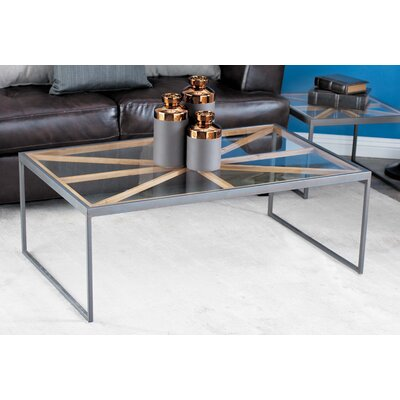 Organ Contemporary 3 Piece Coffee Table Set