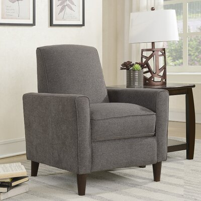Koepp Manual Recliner Upholstery: Mocha