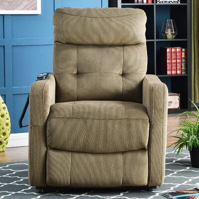 Cerda Power Lift Assist Recliner Upholstery: Sage Green