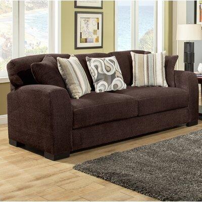 Chacko Sofa Upholstery: Choc