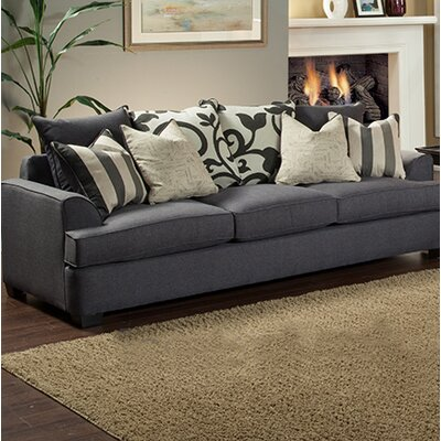 Heenan Sofa Upholstery: Gray