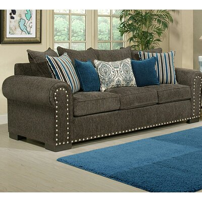 Chacon Sofa Upholstery: Charcoal
