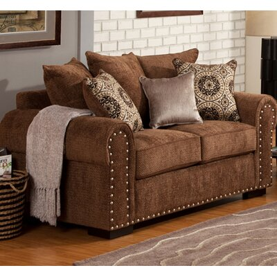 Chacon Loveseat Upholstery: Grove