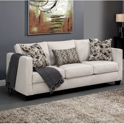 Miskell Sofa Upholstery: Ivory