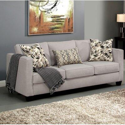 Miskell Sofa Upholstery: Smoke
