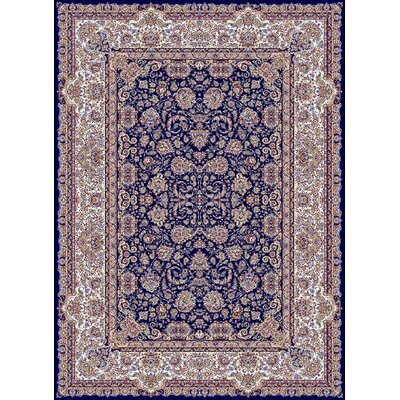 Macalester Persian Wool Navy Area Rug Rug Size: Rectangle 10 x 13