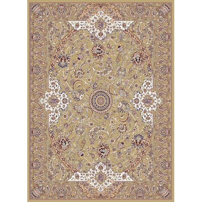 Macarthur Persian Wool Brown Area Rug Rug Size: Rectangle 711 x 910
