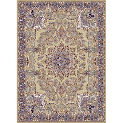 Croll Persian Wool Brown Area Rug Rug Size: Rectangle 711 x 910