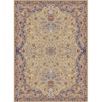 Macek Persian Wool Brown Area Rug Rug Size: Rectangle 5'3