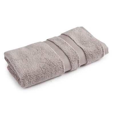 Monogrammed Signature Towel Set Color: Light Taupe, Product Type: Hand Towel