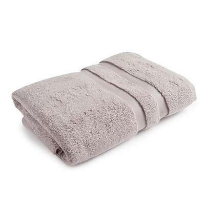 Monogrammed Signature Towel Set Color: Light Taupe, Product Type: Bath Towel