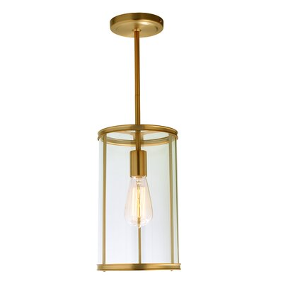 Gilford 1-Light Mini Pendant Finish: Satin Brass