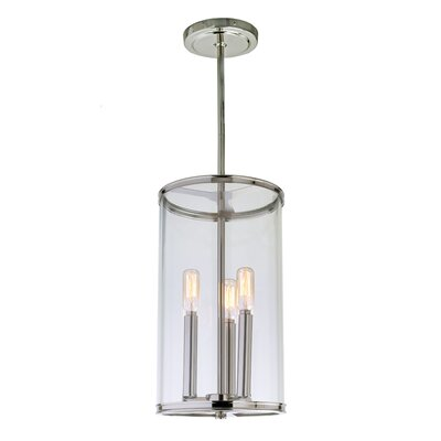 Gilford 3-Light Foyer Pendant Finish: Polished Nickel