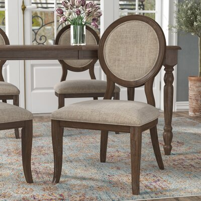 Bloomingdale Transitional Side Chair Color: Rustic Oak