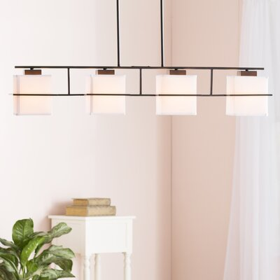 Yesenia 4-Light Kitchen Island Pendant