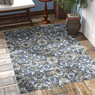 Mcknight Denim Area Rug Rug Size: Rectangle 3'11