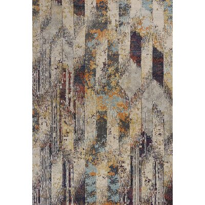 Forbis Ivory Area Rug Rug Size: Rectangle 910 x 132