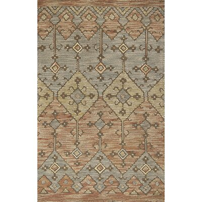 Crume Hand-Tufted Wool Mocha Area Rug Rug Size: Rectangle 76 x 96