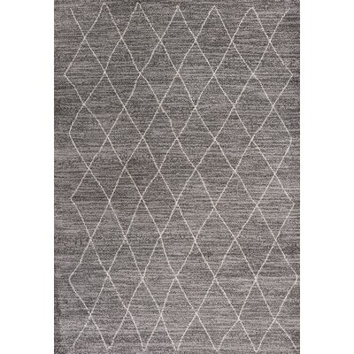Forand Gray Area Rug Rug Size: Rectangle 33 x 53