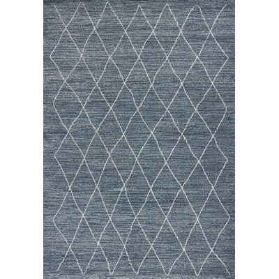 Forand Blue Area Rug Rug Size: Rectangle 53 x 77