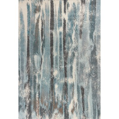 Korth Teal Area Rug Rug Size: Rectangle 53 x 77