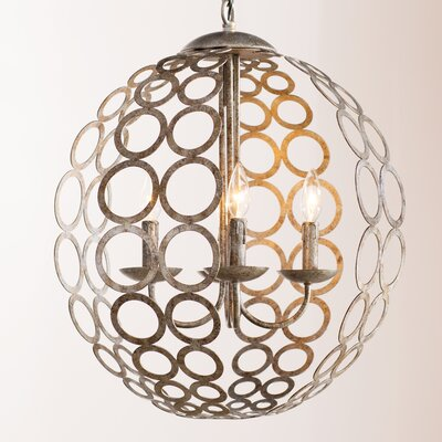 Kenneth 4-Light Candle-Style Chandelier