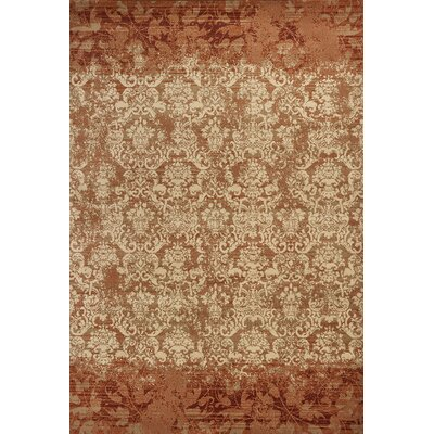 Binette Rust Area Rug Rug Size: Rectangle 53 x 78