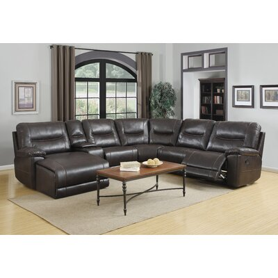 Claypool Reclining Sectional Orientation: Left Hand Facing