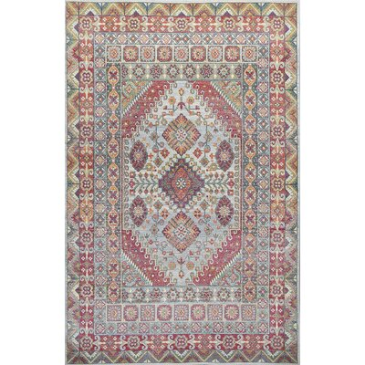 Cruise Red/Green Area Rug Rug Size: Rectangle 33 x 411