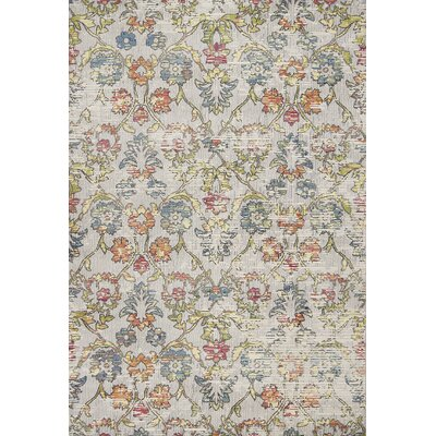Cruise Gray Area Rug Rug Size: Rectangle 53 x 77