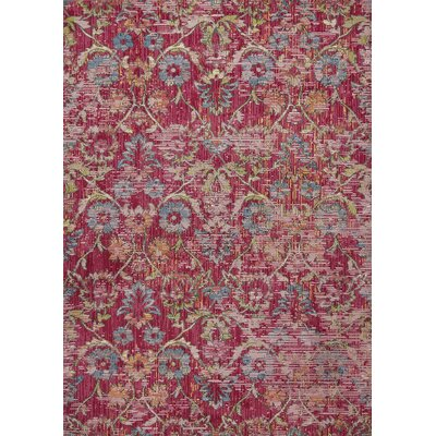 Cruise Pink Area Rug Rug Size: Rectangle 33 x 411