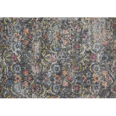 Cruise Charcoal Area Rug Rug Size: Rectangle 710 x 112