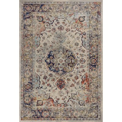 Cruce Ivory Area Rug Rug Size: Rectangle 710 x 1010