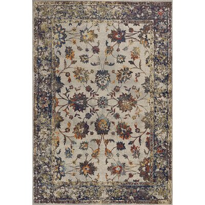 Cruce Gray Area Rug Rug Size: Rectangle 710 x 1010