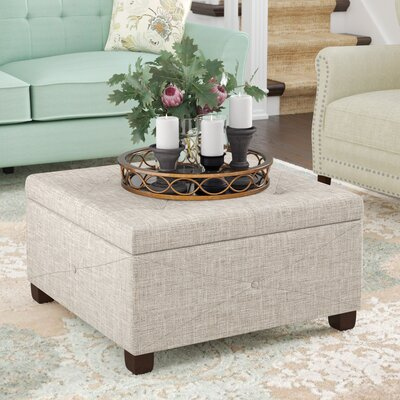 Bantom Storage Ottoman Upholstery Color: Beige