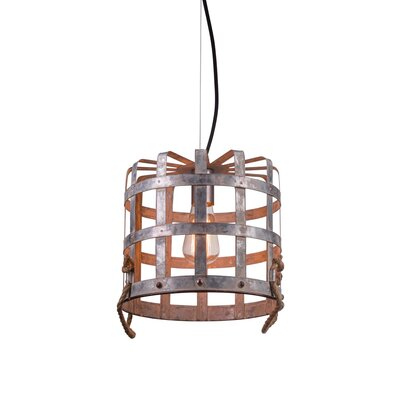 Culler Basket 1-Light Mini Pendant