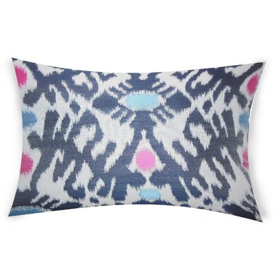 Oakdene Lumbar Pillow Color: Blue