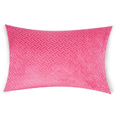 Haworth Lumbar Pillow Color: Pink