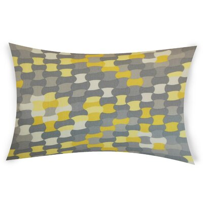 Obregon Cotton Lumbar Pillow Color: Yellow