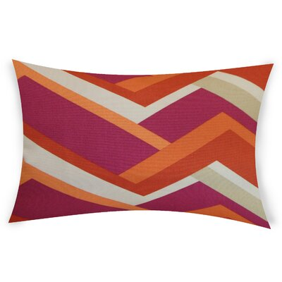 Rettig Cotton Throw Pillow Color: Orange