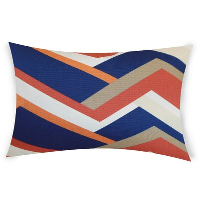 Rettig Cotton Throw Pillow Color: Melon