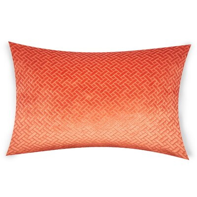 Haworth Lumbar Pillow Color: Orange