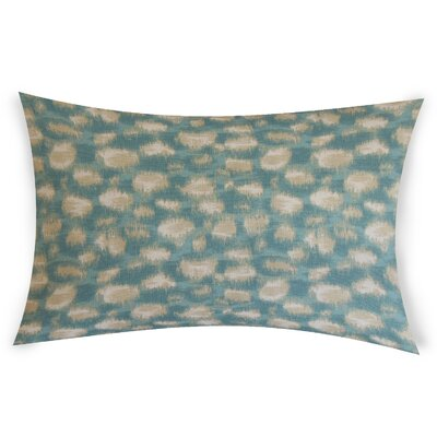 Obryant Cotton Throw Pillow Color: Turquoise