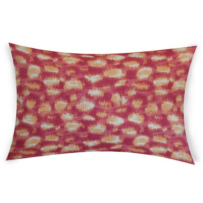 Obryant Cotton Throw Pillow Color: Pink
