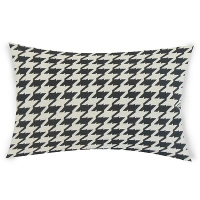 Epperson Cotton Lumbar Pillow Color: Black