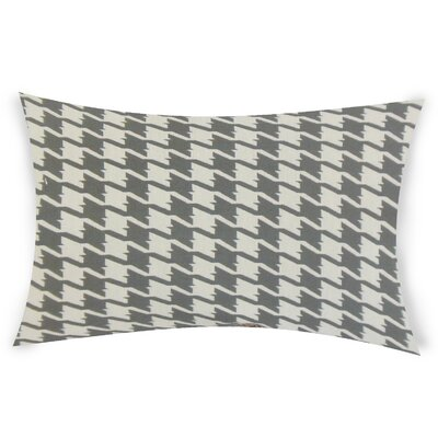 Epperson Cotton Lumbar Pillow Color: Gray