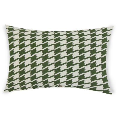 Epperson Cotton Lumbar Pillow Color: Green