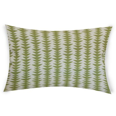 Colter Cotton Throw Pillow Color: Green