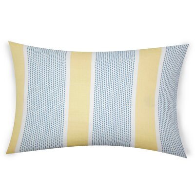 Haygood Cotton Throw Pillow Color: Yellow