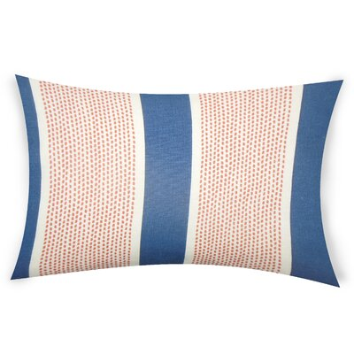 Haygood Cotton Throw Pillow Color: Blue